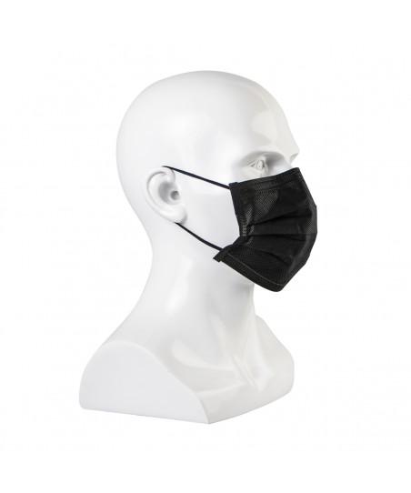 Črne maske za obraz