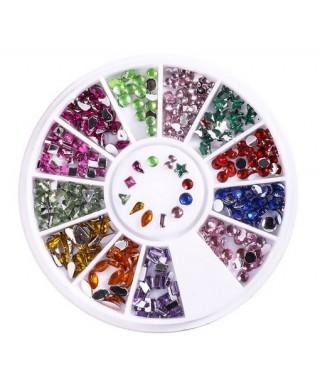 Kristalčki Barvni Mix