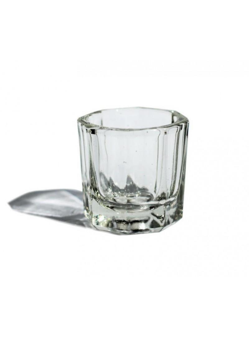 Steklena posodica za manikiro